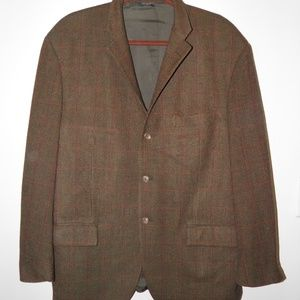 Polo Ralph Lauren Italy Tweed Wool Cashmere Blazer